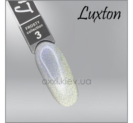 Гель-лак LUXTON Frosty 3, магнитный, 10мл