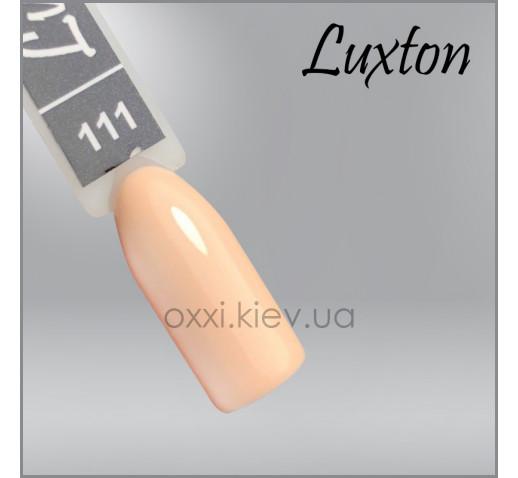 Гель-лак LUXTON 111 светло-бежевый, эмаль, 10мл