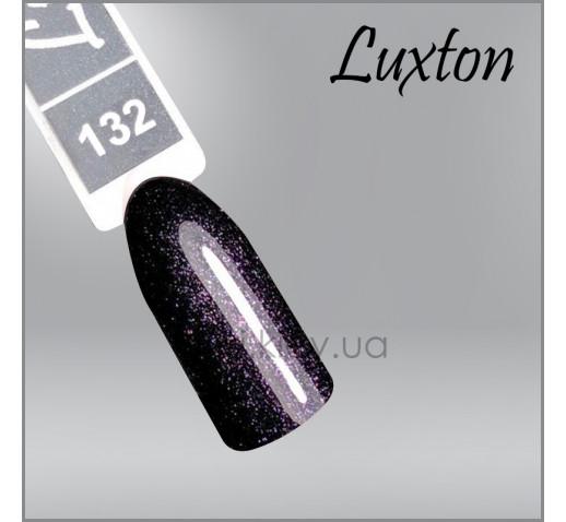 Гель-лак LUXTON 132 темно-фиолетовый, микроблеск, 10мл
