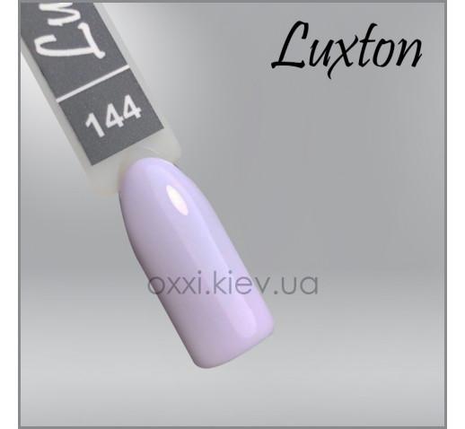 Гель-лак LUXTON 144 бледно-фиолетовый, эмаль, 10мл