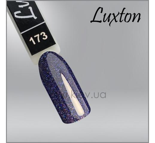Гель-лак LUXTON 173 мокрый асфальт с цветным шиммером, 10мл