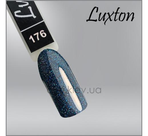 Гель-лак LUXTON 176 хвойный с цветным шиммером, 10мл