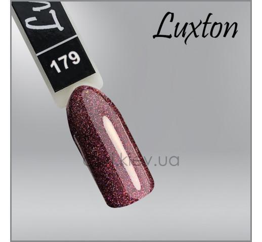 Гель-лак LUXTON 179 сироп мангустина с цветными шиммерами, 10мл