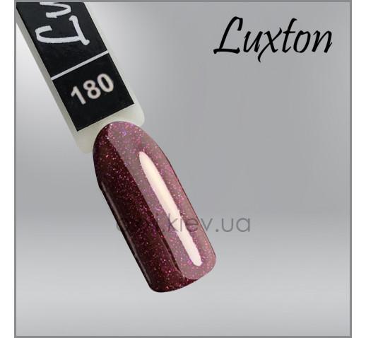 Гель-лак LUXTON 180 шоколадная слива с цветным шиммером, 10мл