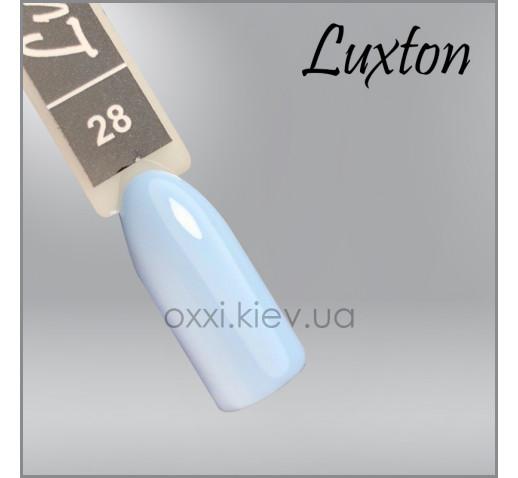 Гель-лак LUXTON 028 приглушенно-голубой, эмаль, 10мл