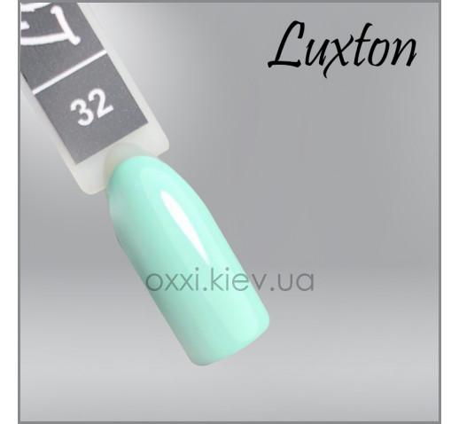 Гель-лак LUXTON 32 мятный, эмаль, 10мл