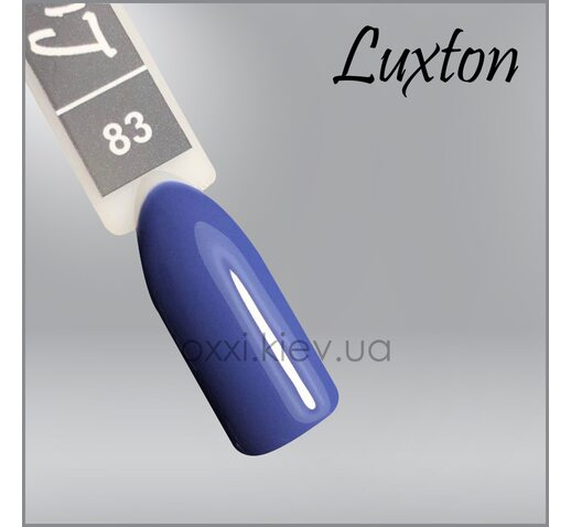 Гель-лак LUXTON 083 дымчато-голубой, 10мл