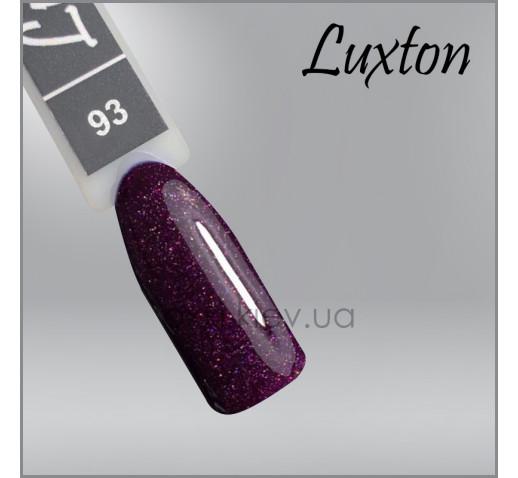 Гель-лак LUXTON 093 розовый баклажан с шиммерами, 10мл