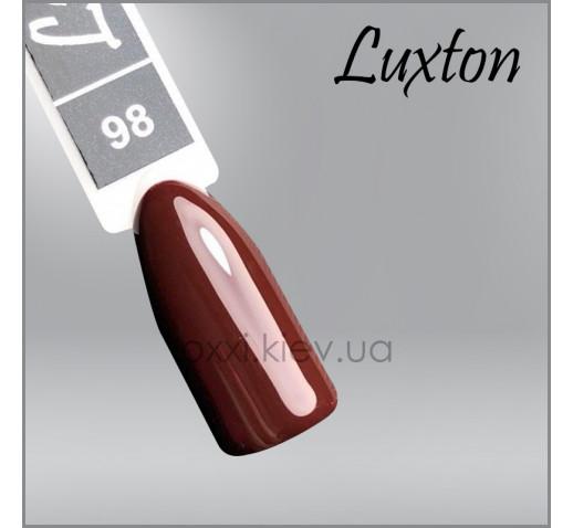 Гель-лак LUXTON 098 шоколадная слива, 10мл