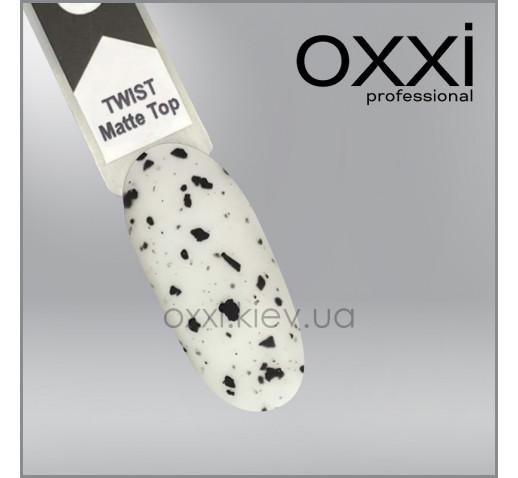 Топ для гель-лака Oxxi Professional Twist Matte Top, 10 мл