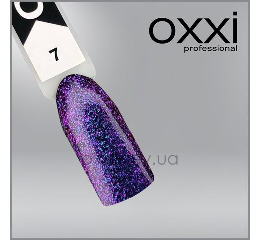 Гель-лак Chameleon Lux OXXI 7 розово-фиолетовый, хамелеон, 10мл