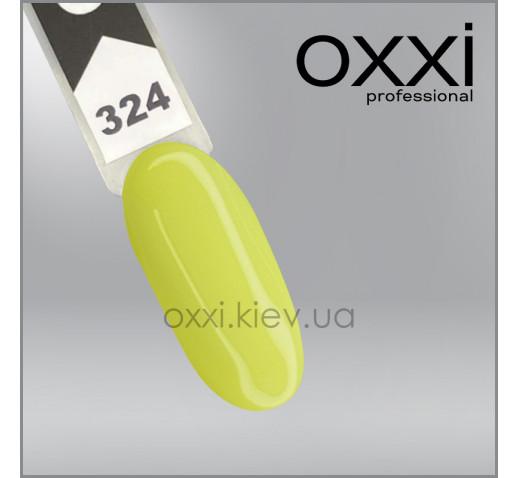 Гель-лак Oxxi 324, лимонный, 10мл