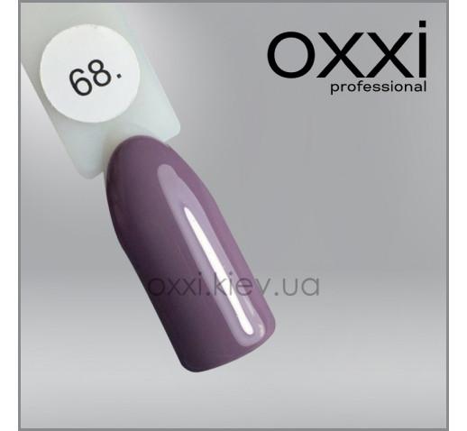 Гель-лак Oxxi 068 какао, эмаль, 10мл